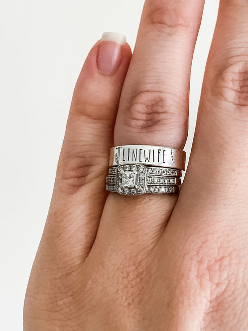 Linewife Sterling Silver ring