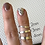 Thumbnail: Sterling Silver Ring-3mm