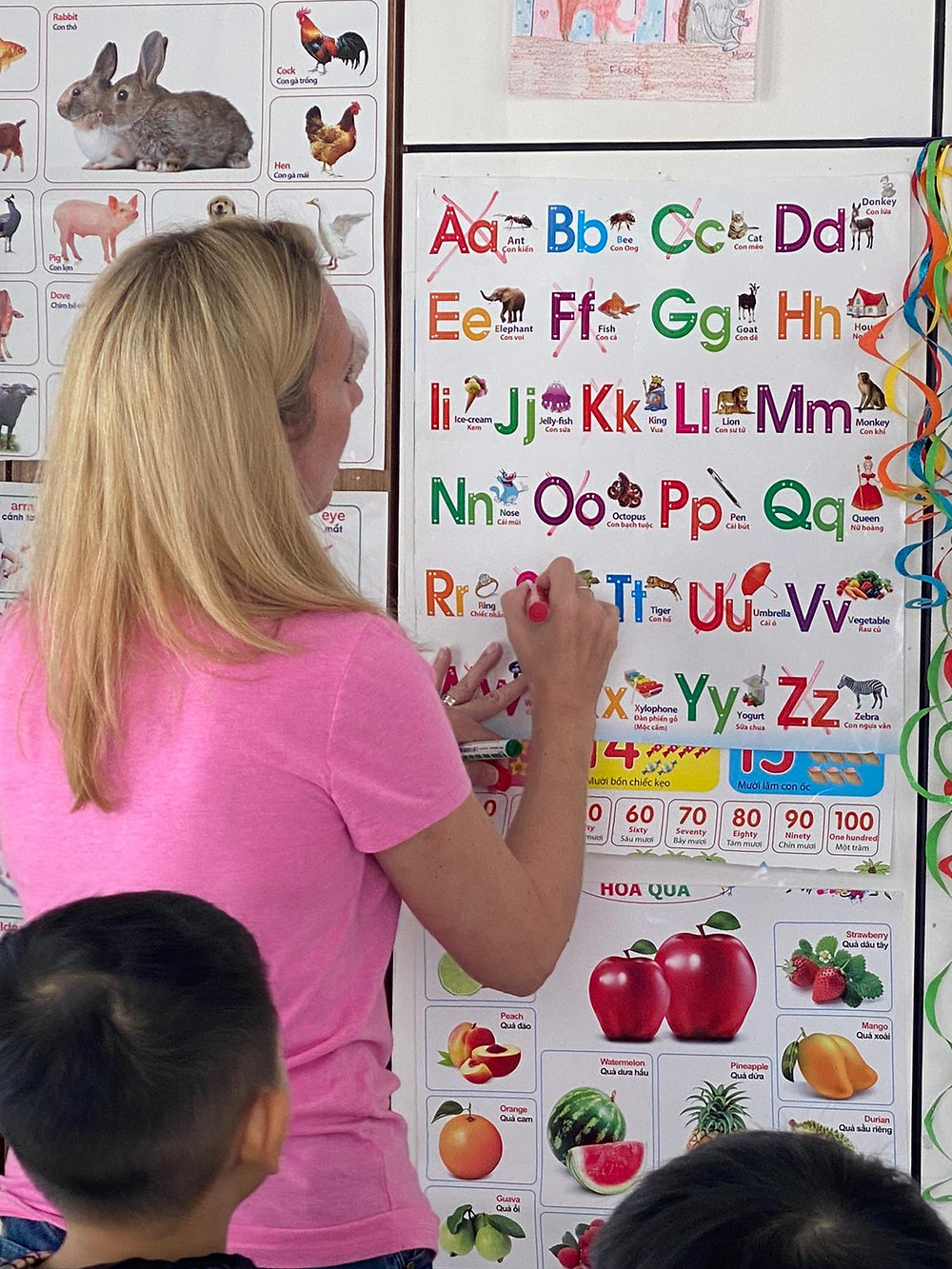 Teaching English | Spark Alternative Learning CENTER