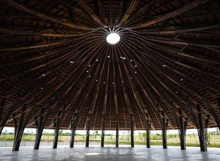 Trung tâm cộng đồng Làng Sen: Một công trình kiến trúc bằng tre gần Thành phố Hồ Chí Minh