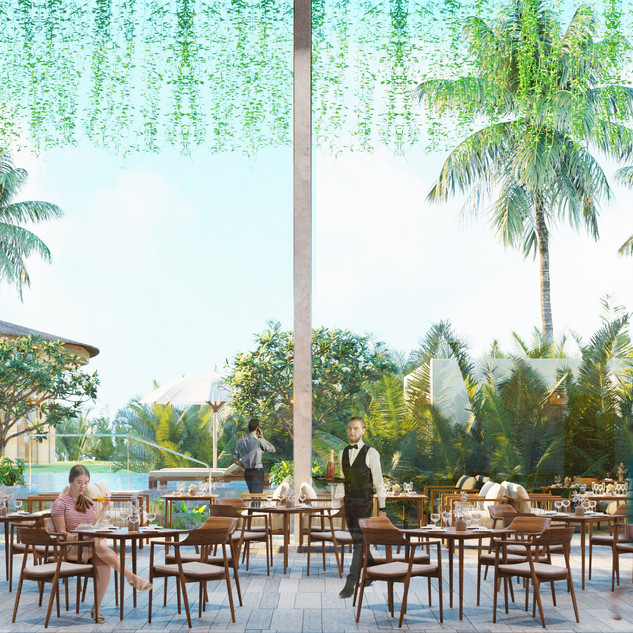 Hotel Casamia - Lobby / Restaurant
