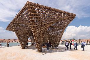 """Nhũ tre - Triển lãm Kiến trúc quốc tế Biennale Venice lần thứ 16 """"Không gian tự do"""""""