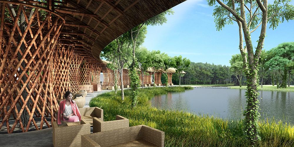 PJ Muong Thanh Bamboo Restaurant | VTN Architects