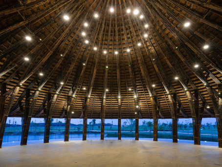 Sen Village Community Center: A Bamboo Structure near Ho Chi Minh City