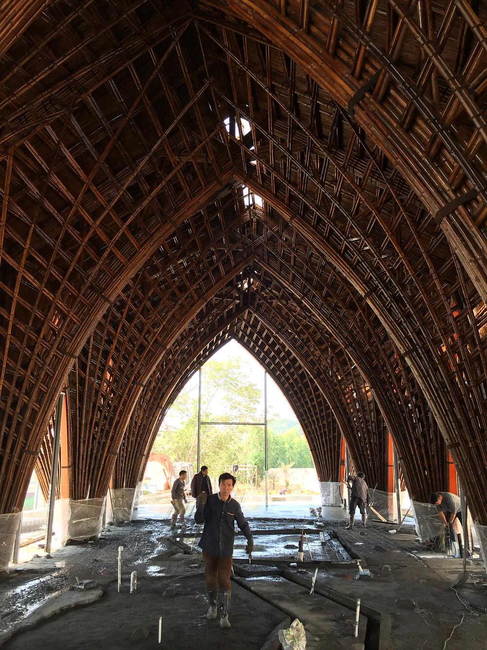 Bamboo Design & Construction | Ting Xi Bamboo Restaurant