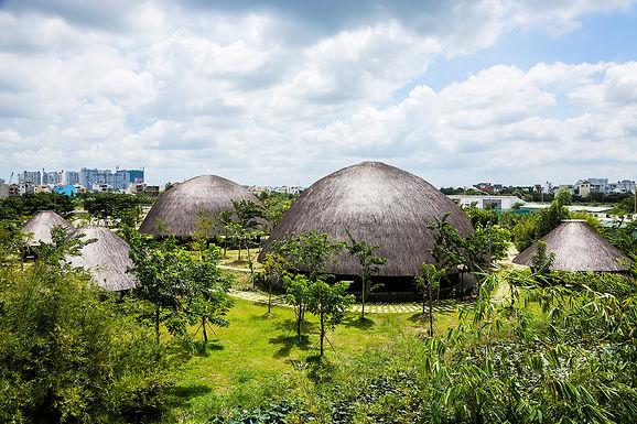 Nhà cộng đồng đảo Kim Cương