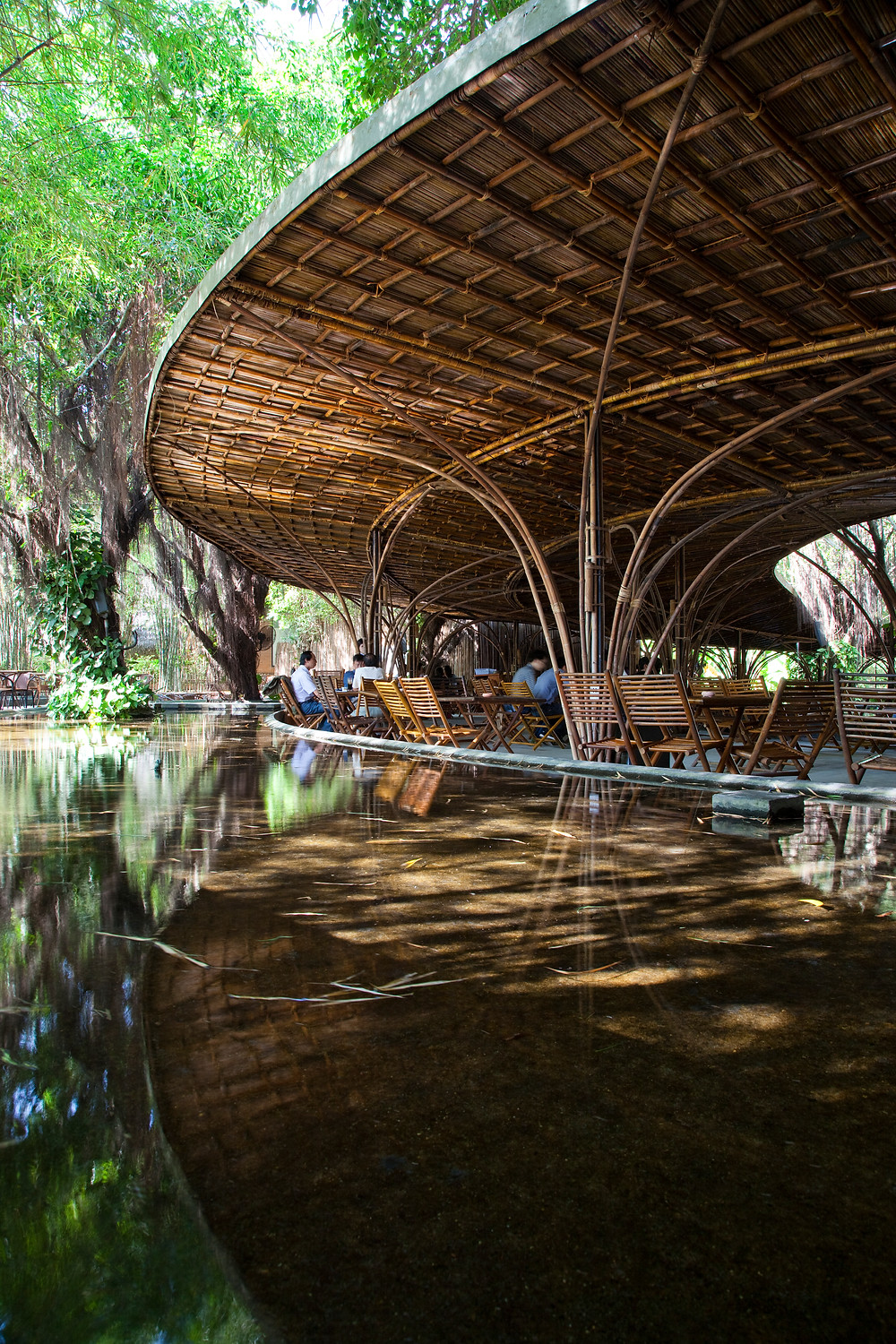 Wind and Water Café | Bamboo Architecture | VTN Architects
