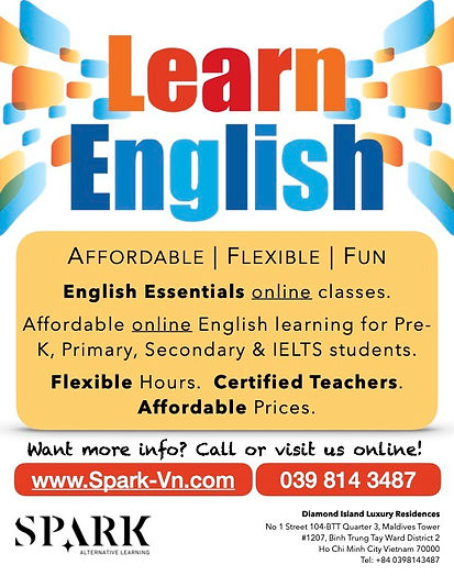 Online English Classes | Spark-Vn