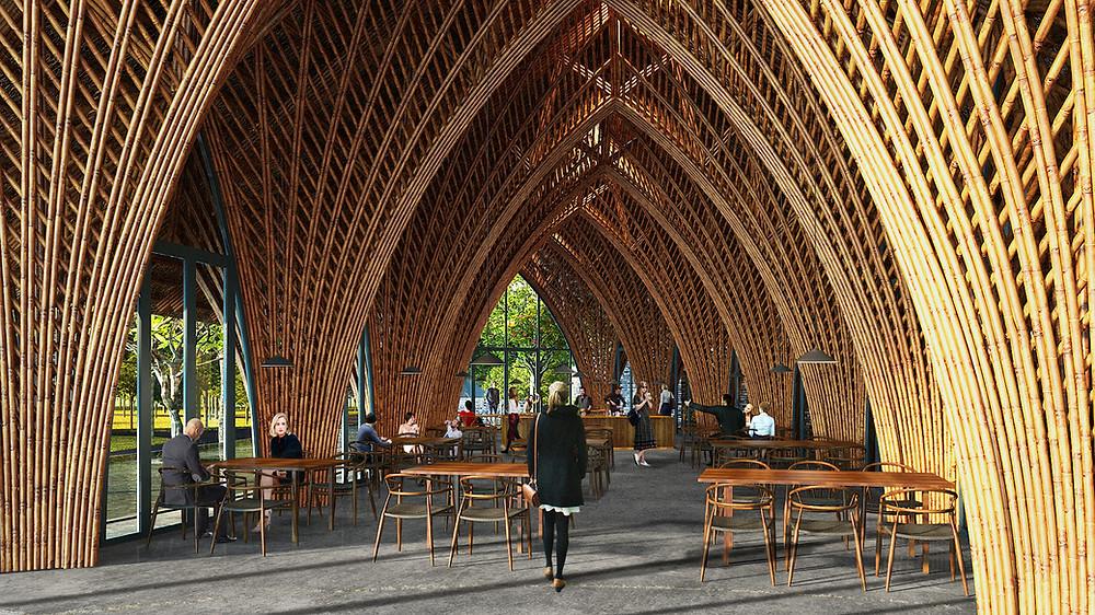 Ting Xi Bamboo Restaurant | VTN Architects
