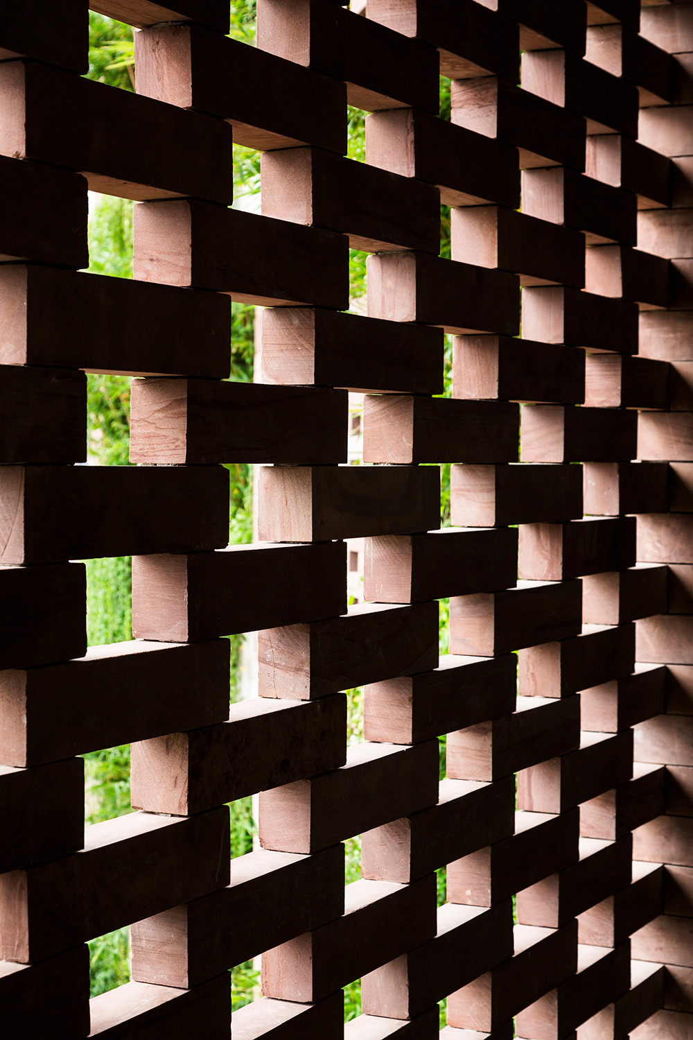 Brick Wall forming Windows to Nature - Atlas Hotel | VTN Architects