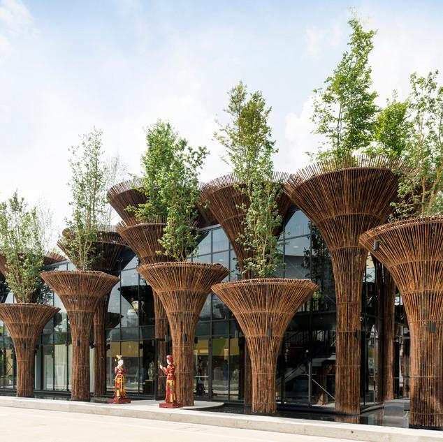 Vietnam Pavilion in EXPO Milano
