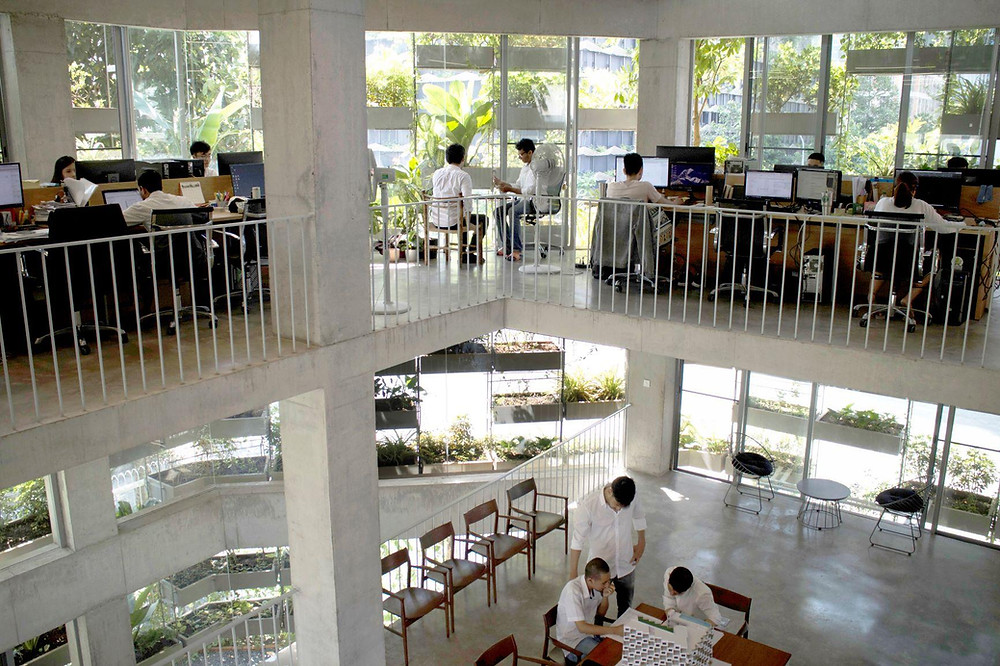 VTN Architects Headquarters in Ho Chi Minh City, Vietnam