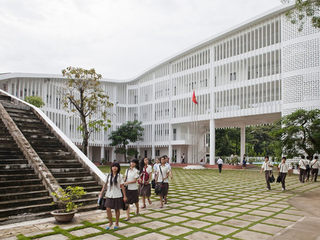 Binh Duong School: A Novel Concept and Award Winning Design