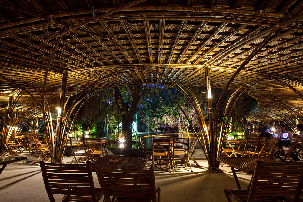 Wind and Water Café | Bamboo Architecture