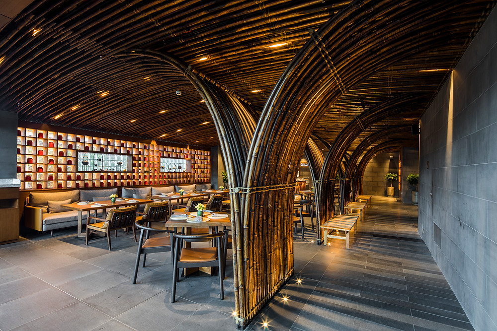 Lá Hẹ Restaurant - Chicland Hotel | VTN Architects