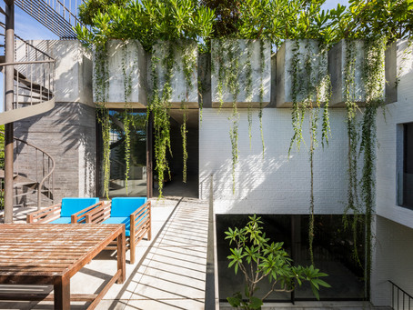 VTN Architects Advance Green Architecture with Thang House