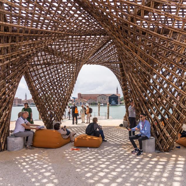 Bamboo Stalactite Pavilion