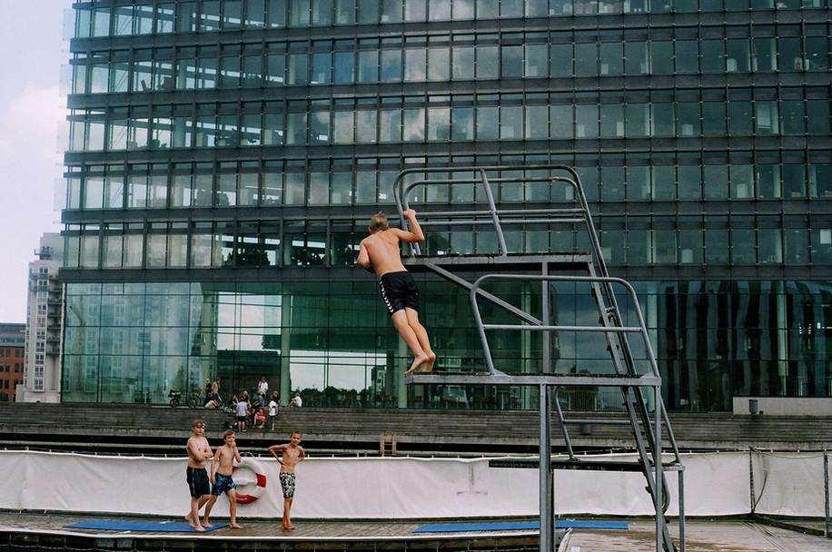 Copenhagen swimmers, Denmark.