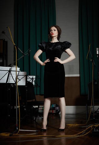 Sophie Ellis-Bextor photographed for her orchestral hits album, 'The Song Diaries'