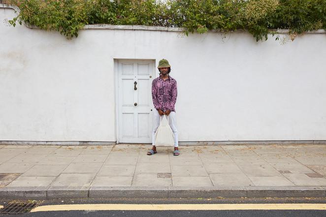 Akinola Davies photographed for Guardian Labs