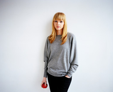 Lucy Rose photographed for Sony Music