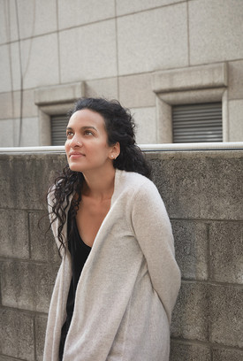 Anoushka Shankar photographed on tour in Seoul, South Korea