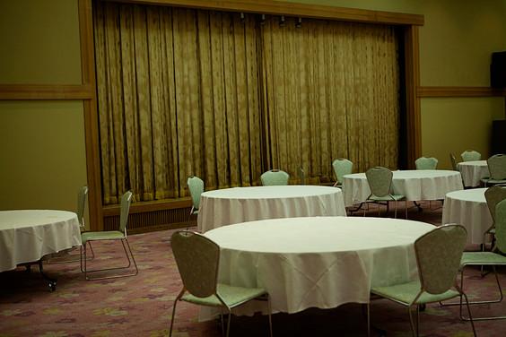 Breakfast room, Miyajima, Japan