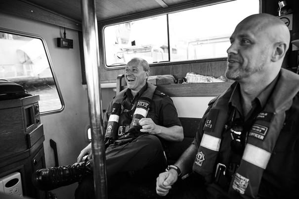MPS Marine Policing Unit, River Thames