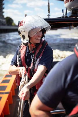 Crew member, Tower RNLI lifeboat