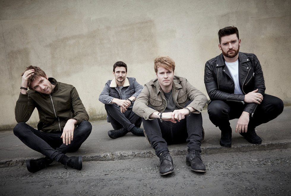 Kodaline photographed for Sony Music