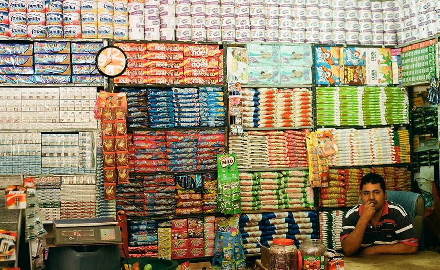 Taganga shop, Colombia.