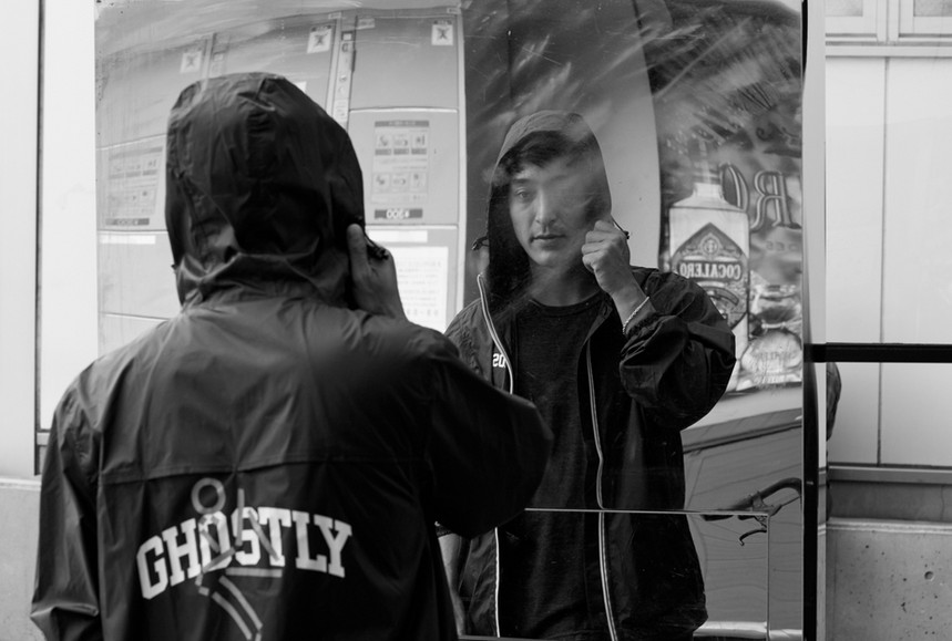 Shigeto photographed for Ghostly International