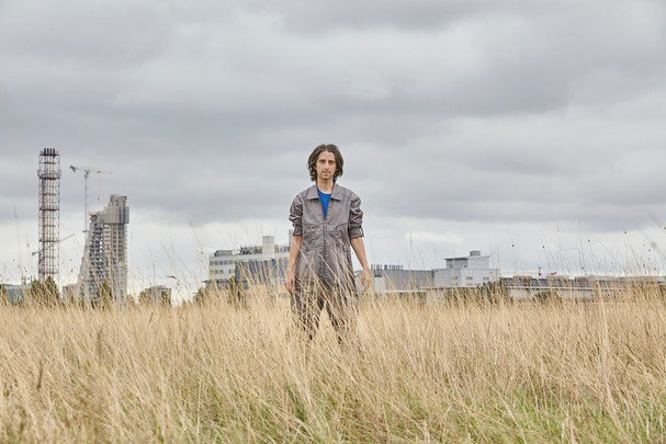 James Holden photographed for Border Community