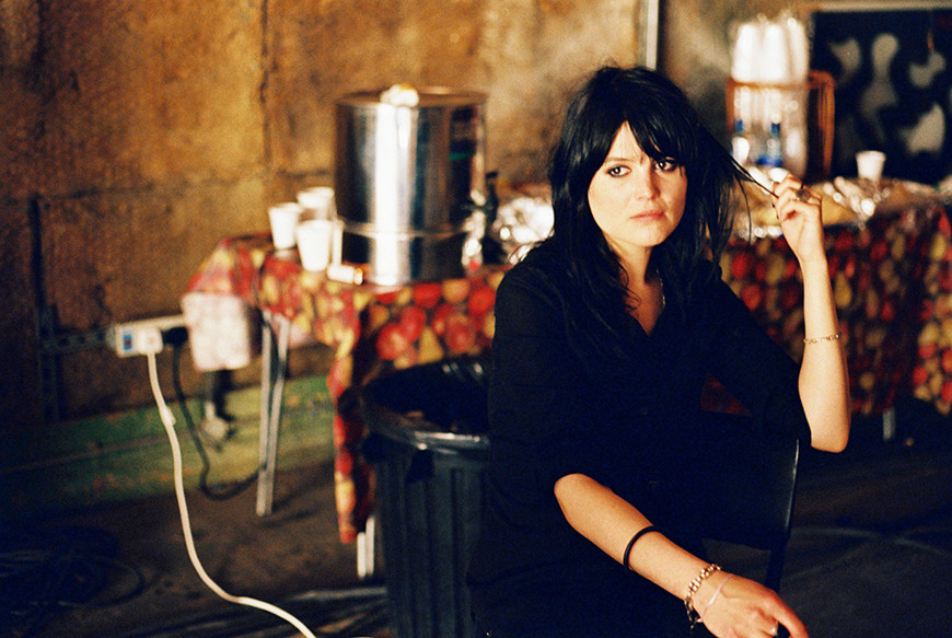 Alison Mosshart photographed for Sony Music