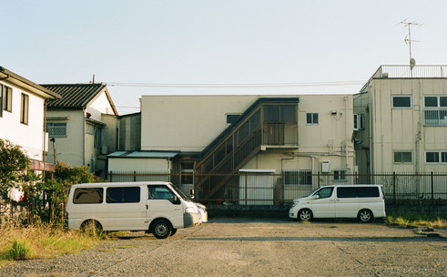 Chiba Prefecture, Japan. From the book 'Good Luck and Do Your Best'.