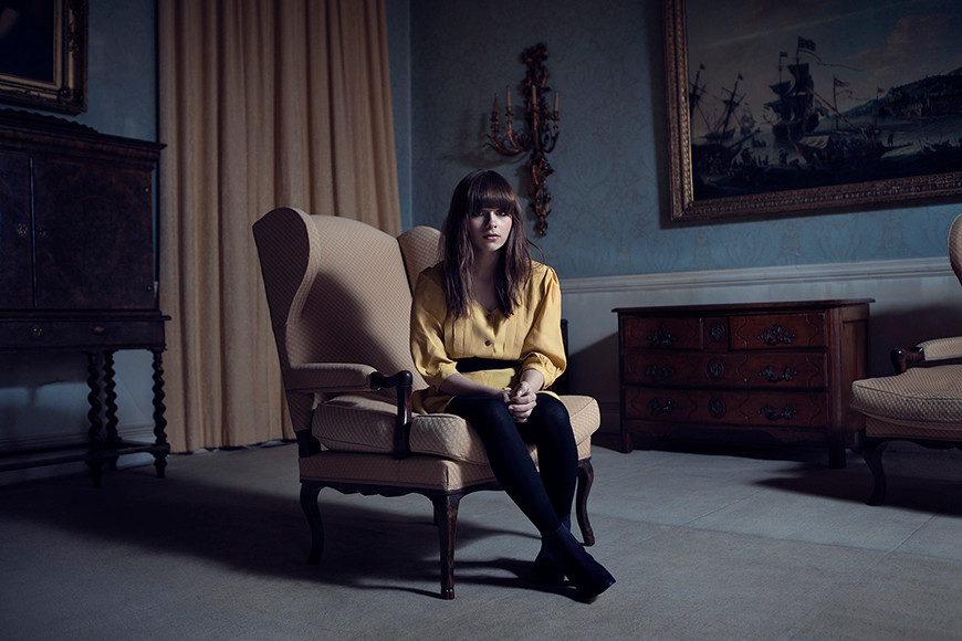 Gabrielle Aplin photographed for Parlophone Records