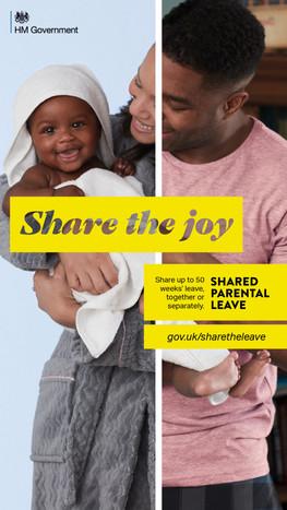 'Share the joy'