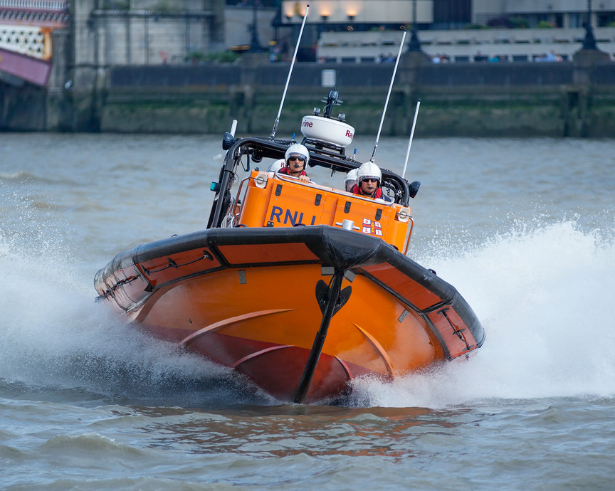 RNLI Tower Lifeboat - All proceeds from this print sale go directly to the RNLI.