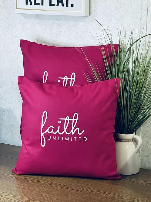 Faith Unlimited Pillows