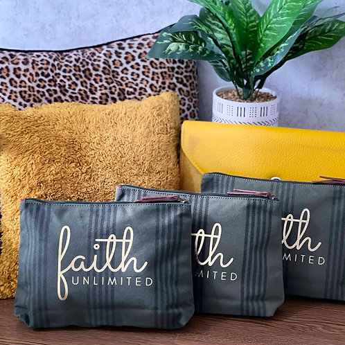 Faith Unlimited Pouch