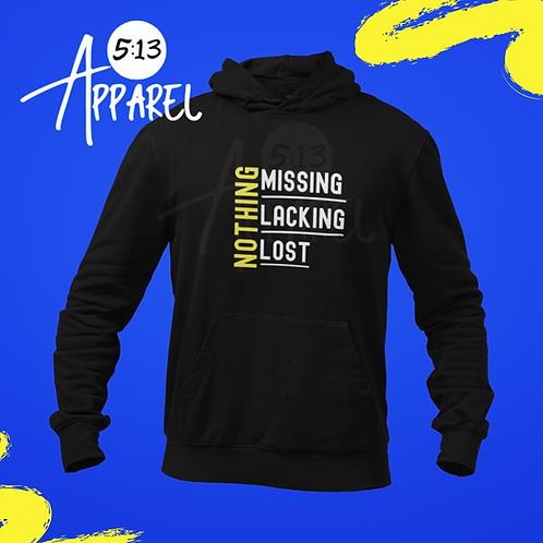 NOTHING Missing, Lacking, Lost