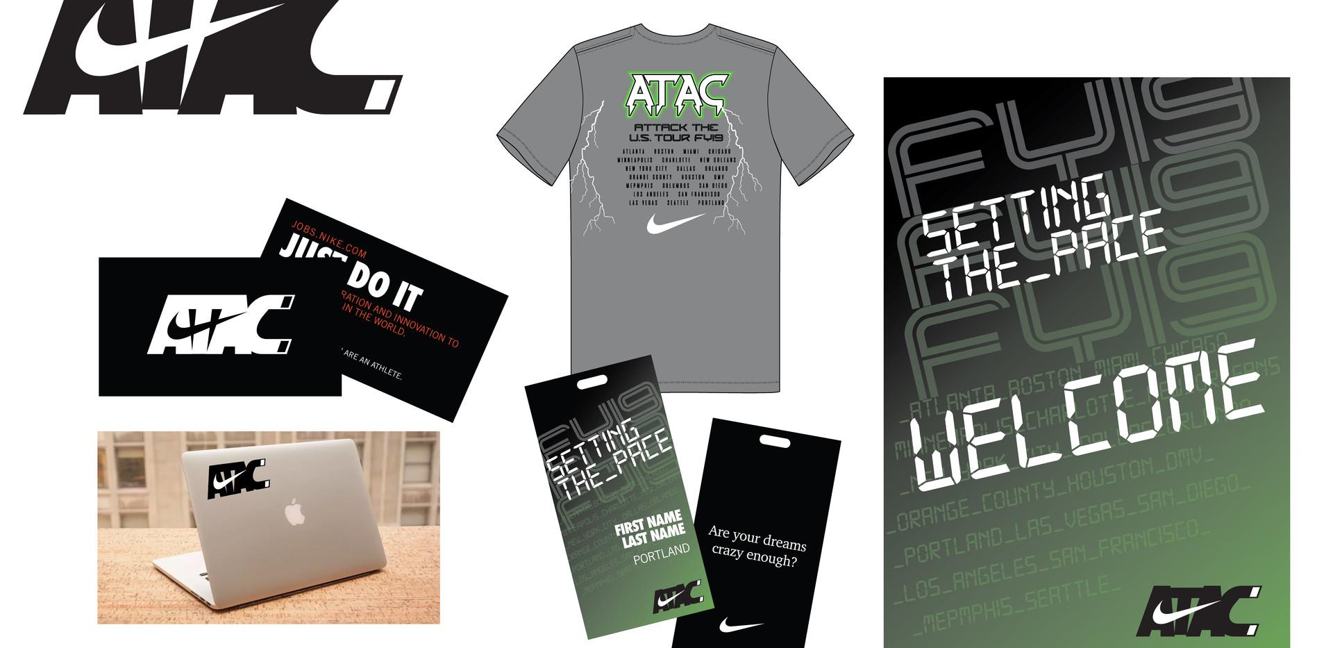 Nike, ATAC identity