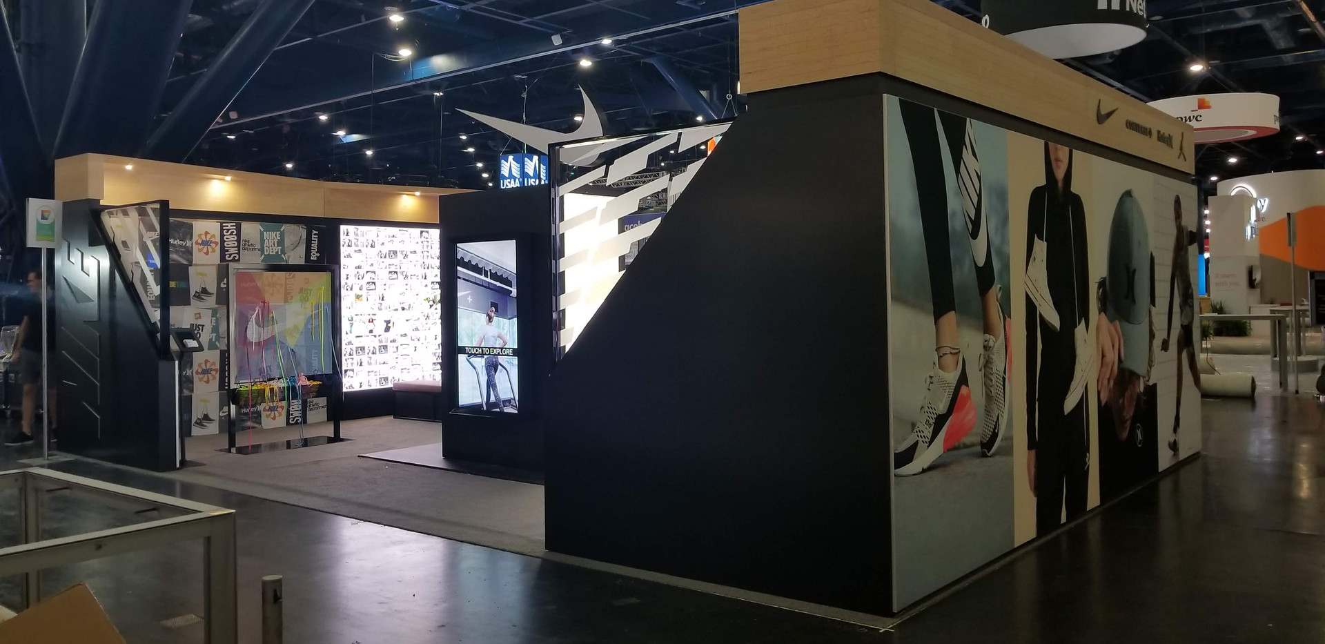 Nike Talent Acquisition Booth