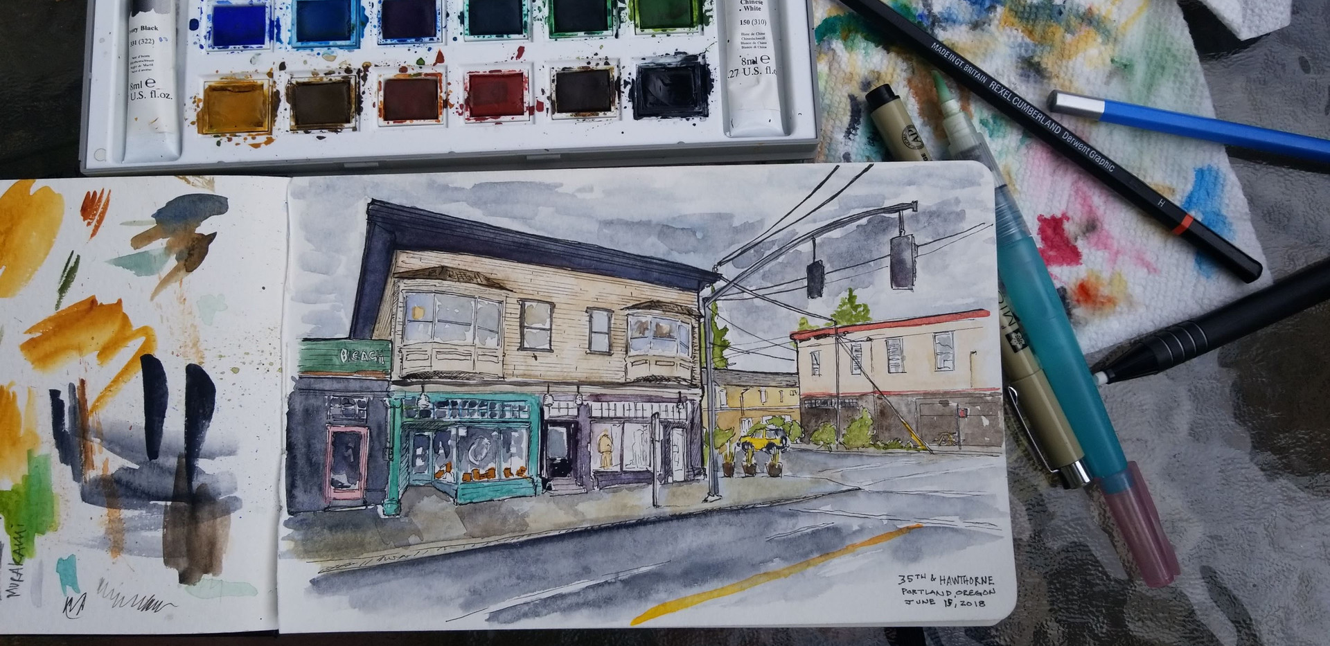 35th Place and Hawthorne