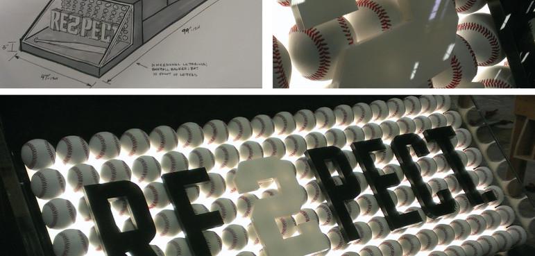 Nike, RE2PECT display case