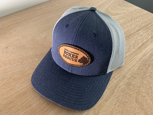 'Denim' Trucker cap, light patch