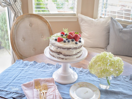 Chocolate Chantilly Cake