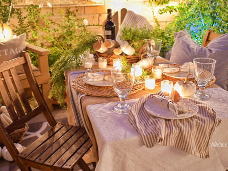 Creating An Outdoor Fall Tablescape