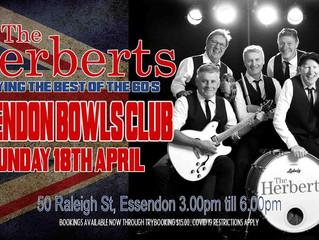 The HERBERTS @EBC Sunday April 18th 2021.