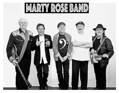 SUNDAY SESSIONS ARE BACK with The MARTY ROSE BAND February 7th 2021.